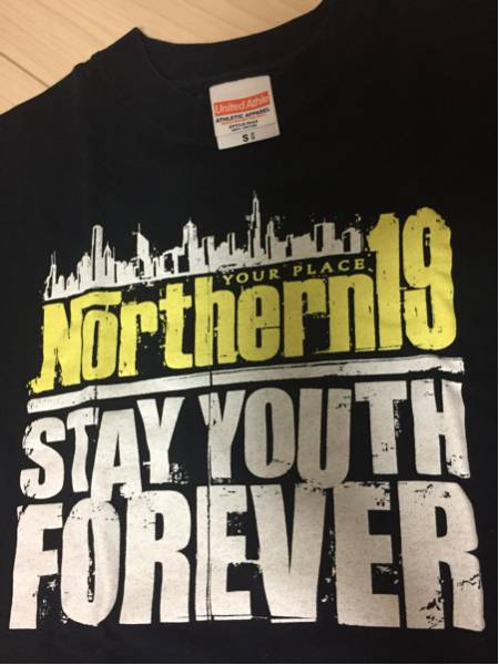 Northern19 Tシャツ 黒S STAY YOUTH FOREVER ノーザン19 dustbox 10-FEET