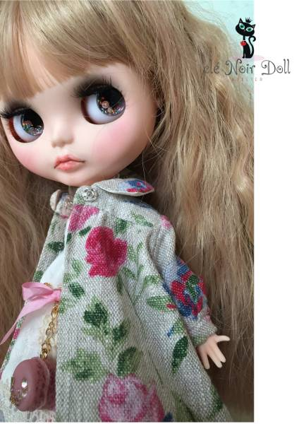 cle Noir Doll**カスタムブライス** favorite floral coat