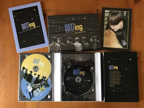 GOT7 GOT7ing DVD ライブグッズの画像