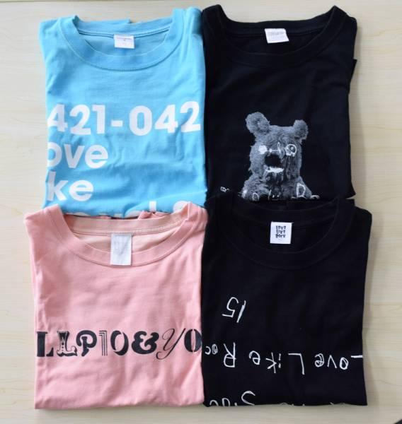 aiko アイコ LLP LLR ツアーTシャツ 4枚セット チビ ライブグッズの画像