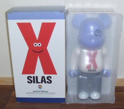 即決 ベアブリック サイラス 400% SILAS_画像1