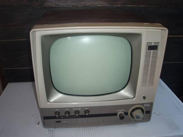 真空管テレビ 日立製作所 FY-440 昭和レトロ アンティーク 14型テレビ受信機