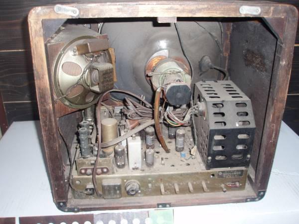 真空管テレビ 日立製作所 FY-440 昭和レトロ アンティーク 14型テレビ受信機_画像3