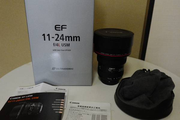 Canon EF11-24mm f4L USM(美品) お譲りします。