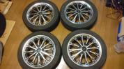 BLACK ICE ALLOYS? 15×5J ET45 PCD100 4穴 4本 サンバー等に