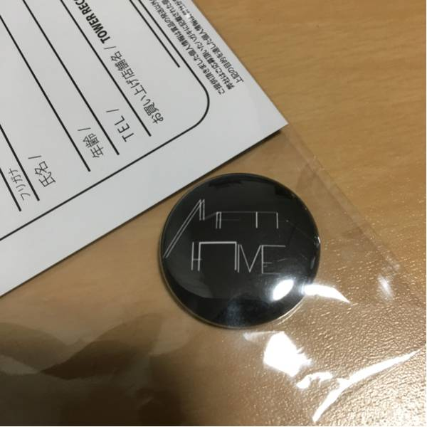 METAFIVE タワレコ特典 缶バッジ&応募ハガキ 非売品 未使用 缶バッチ②