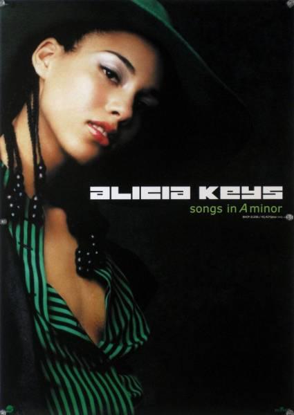 ALICIA KEYS アリシア・キーズ B2ポスター (2H04005)