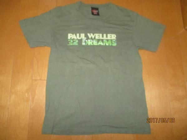 PAUL WELLER(ポールウェラー)32 DREAMS フジロック2009 Tシャツ★Mサイズ