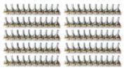 16φ 可変抵抗器 16mm ミニ ポット Bカーブ 抵抗値 5Kオーム 100個セット ボリューム ギター/エフェクター 電気回路用 16P5B100a