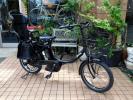 自転車60 2016年モデル 子供乗せ ヤマハ PAS パスバビーXL PA20BXL マットブラック 大容量12.8Ah 車体良好&バッテリー極めて良好!