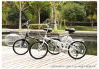 「超美品」 折りたたみ自転車 20インチSHIMANO製 6段変速  色:ブラック