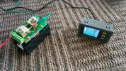 300A対応 無線式 離れた所から電圧電流バッテリー量時間が確認出来る 電圧計 電流計 アプリ対応の本物