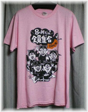 MAN WITH A MISSION マンウィズ☆8ヶ所だョ!全員集合 TシャツS☆2012希少レア! ライブグッズの画像