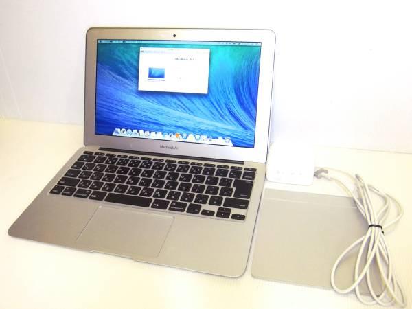美品 Apple アップル MacBook Air Early2014 11.6インチ SSD128GB Corei5 1.7GHz トラックパッド付 初期動作不良保障