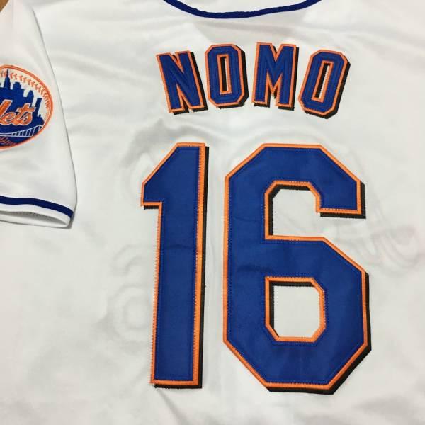 ニューヨーク・メッツ 野茂英雄 #16 ユニフォーム ジャージ グッズの画像