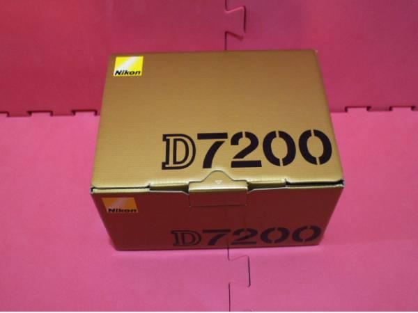 新品● ニコン●D7200 ボディ ブラック 一眼レフ