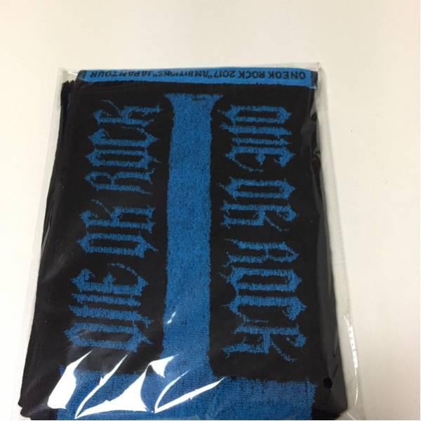 """新品未開封☆ワンオクロック2017 """"Ambitions"""" JAPAN TOUR マフラータオル、ラバーバンド"""