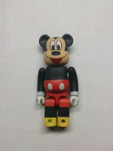 BE@RBRICK ベアブリック ミッキーマウス SERIES 17 animal シリーズ17 アニマル ジャンク品 100% ミッキー ディズニー ディズニーグッズの画像