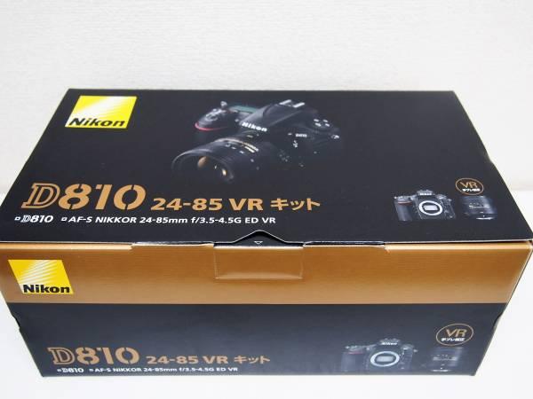 2★【新品未使用】Nikon ニコン デジタル一眼レフカメラ D810 24-85 VR レンズキット AF-S NIKKOR 24-85mm f/3.5-4.5G ED VR