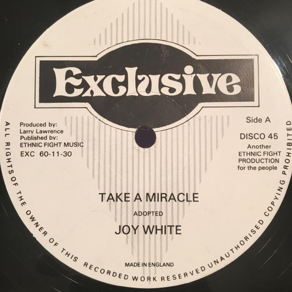 ★Joy White/Take A Miracle★メロウ名曲カバー!