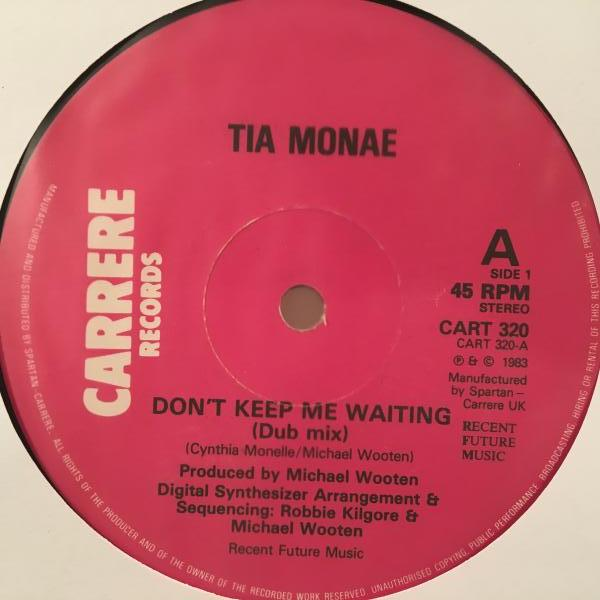 ☆Tia Monae/Don't Keep Me Waiting☆80s SYNTH BOOGIE!_画像1