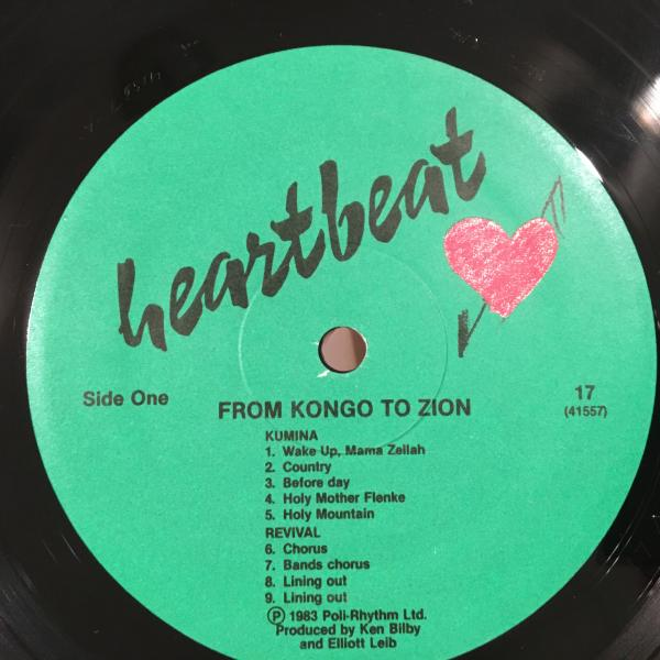 ★Black Music Traditons Of Jamaica/From Kongo To Zion★_画像2