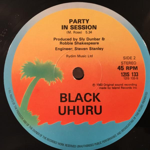 ★Black Uhuru/Party Next Door★KILLER ROOTS!_画像2