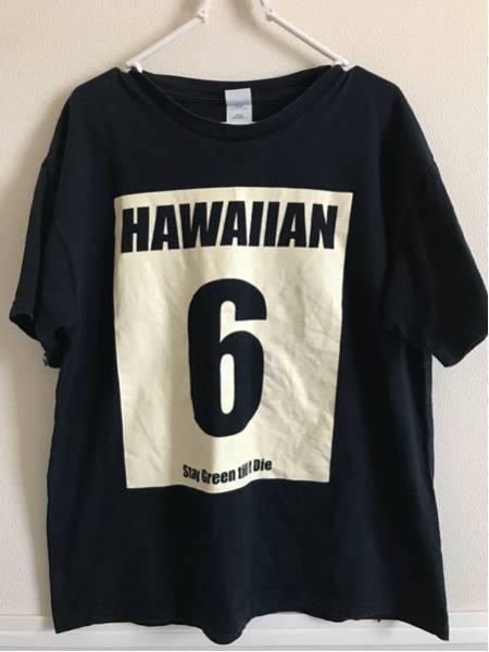 HAWAIIAN6 ハワイアン6 Tシャツ 希少!シンプル オシャレ 美品 Lサイズ