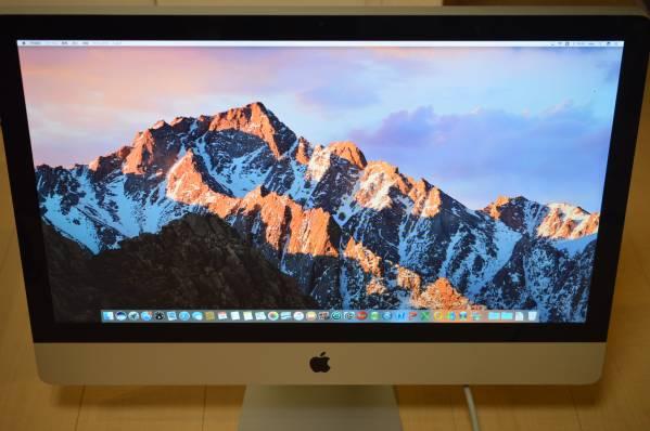 【プロ仕様 Waves V9 最強バンドル】iMac Mid2011 CTO/27inch/i7 3.4GHz/2TB/32GB/Win10/