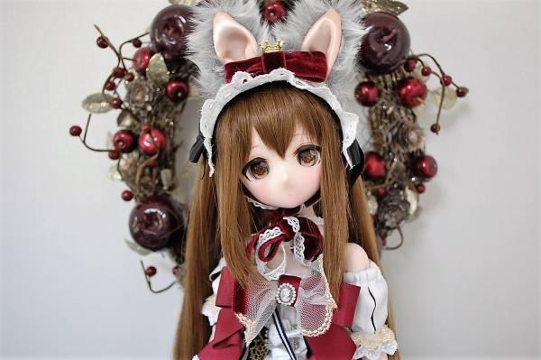 【CALULU】DDH-01 カスタムヘッド+アイ+ウィッグ+衣装一式☆白雪姫