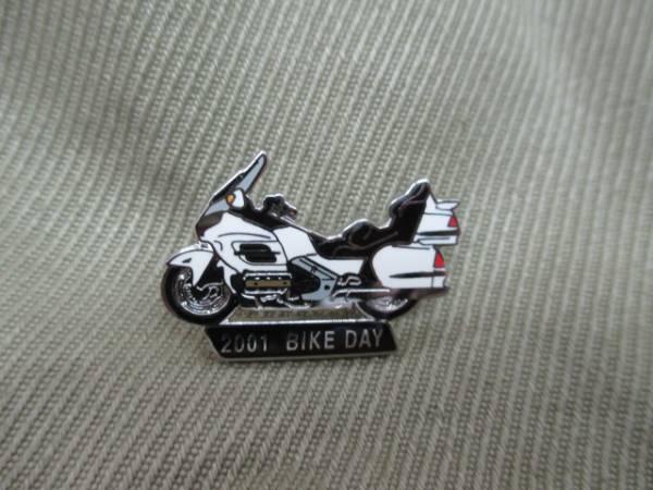 ホンダ ピンズコレクション ゴールドウイング 2001バイクデー 絶版_画像1