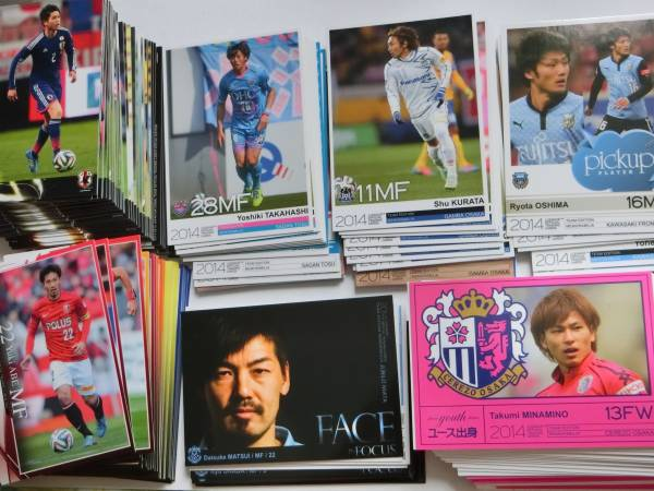 2014 Jカード・Jチーム別・日本代表 大量 510枚 / セレッソ ガンバ サンフレッチェ etc グッズの画像
