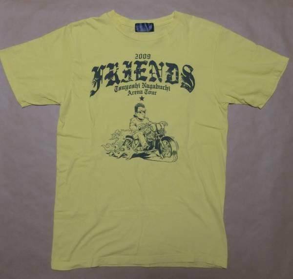 長渕剛 2009 TSUYOSHI NAGABUCHI ARENA TOUR FRIENDS Tシャツ