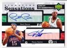 Paul Pierce(ポール・ピアース)/ Vince Carter(ビンス・カーター) NBA 2006-07 UD Basketball Dual Auto 25枚限定 直筆サイン