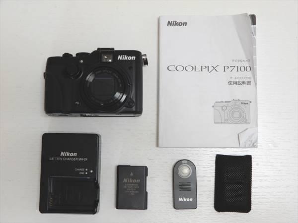 ☆中古美品☆Nikon ニコン コンパクトデジタルカメラ COOLPIX P7100 純正リモコンML-L3つき 超おすすめです