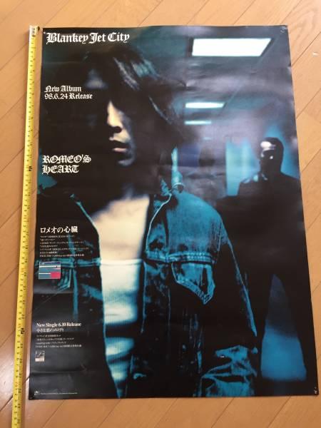 レア B2サイズ BLANKEY JET CITY ポスター ブランキージェットシティ 浅井健一 BJC ライブグッズの画像