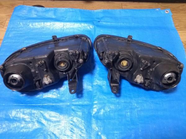 カプチーノ EA11R EA21R ヘッドライト 左右_画像2
