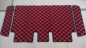 エブリイ DA17W フロアマット ステップマット リアのみ 赤黒 エブリィ