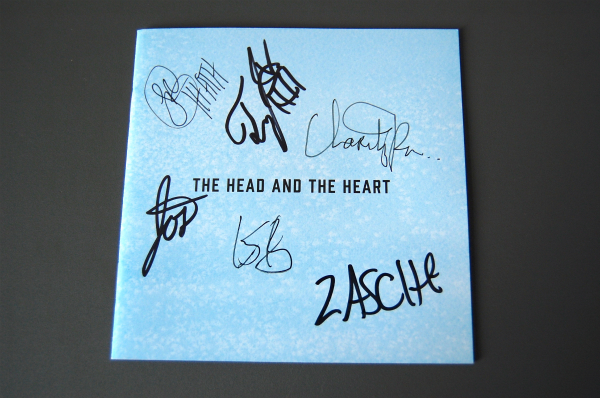 ★THE HEAD AND THE HEART LET'S BE STILL CD サイン入ブックレット★