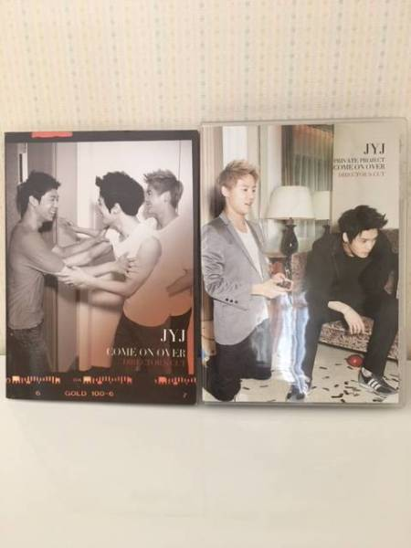 JYJ PRIVATE PROJECT COME ON OVER [ DIRECTOR'S CUT ] DVD 韓国版