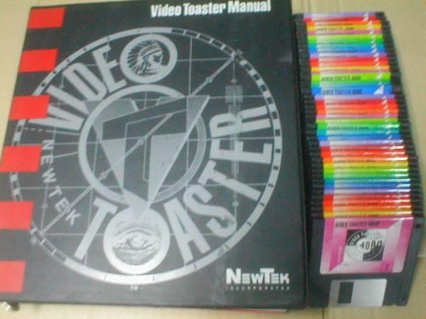 Amiga commodore Video Toastetr 4000 manual Ver1.0 NEWTEK コモドール アミガ アミーガ_画像1
