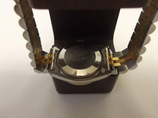 ROLEX ロレックス デイトジャスト ミッドサイズ 黒文字盤 型番68273 正規品 _画像3