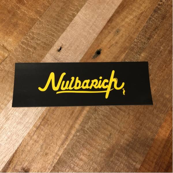 【即決】Nulbarich『Who We Are』タワレコ限定特典ロゴステッカーナルバリッチSuchmosサチモスyahyelD.A.N