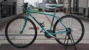 ビアンキ クロスバイク チェレステカラー オプション付き 送料込み