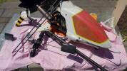 カルトGSa ガソリンヘリコプター23cc部品取りジャンク 1円スタート! (ヒロボー、JR,ラジコン、ヘリ)第2弾