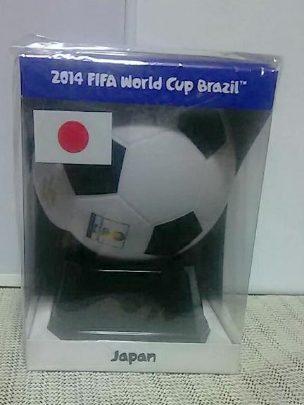 2014ワールドカップブラジル大会 ミニサッカーボール 日本