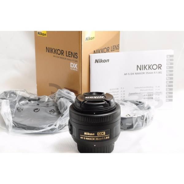 最低落札なし★新品★ニコン Nikon AF-S DX NIKKOR 35mm f/1.8G_画像2
