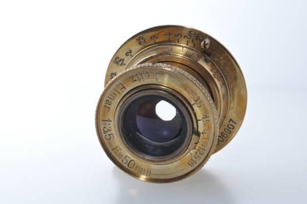 ★ライカ Leica エルマー Elmar 50mm F3.5 ゴールド ★357