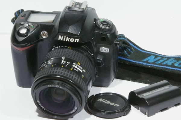 Nikon ニコン デジタル一眼 D70 28-70mm レンズセット