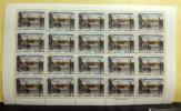 未使用切手■1962年 国際文通週間【日本橋 安藤広重】 40円×20枚 1シート